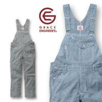 GRACE ENGINEER`S|グレースエンジニアーズ|春夏作業服|スタイリッシュ カジュアルサロペット GE-924