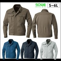 SOWA|桑和|春夏作業服|長袖ブルゾン 163